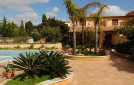 Luxury houses with pools for sale in Sicily. Group of villas on the beach of the Ulisse's Bay, St. Leone, Agrigento Sicily
