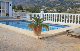 Rustico style villa with a garden and a panoramic sea and mountain views, Mijas, Spain for 635,000 €