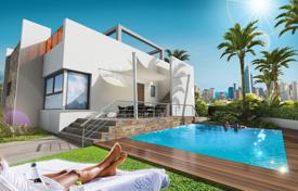 3 bedroom apartments for sale in Finestrat. Three-bedroom apartment with a rooftop terrace in a residential complex with a pool and a parking, Finestrat, Alicante, Spain