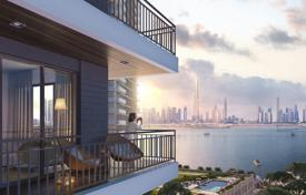 Apartments from developers for sale in Western Asia. Comfortable flat with a balcony in a residential complex with a playground, Dubai, UAE