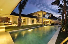Houses for sale in Bali. Stylish villa with a garden, a swimming pool and panoramic views, close to the beach, Canggu, Bali
