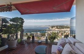1 bedroom apartments for sale in France. Luxury apartment with a terrace and a panoramic sea view, in a prestigious residence in Mont Boron, Nice, France