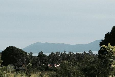 Land for sale in Southeast Asia. The site overlooks the bay near Bophut