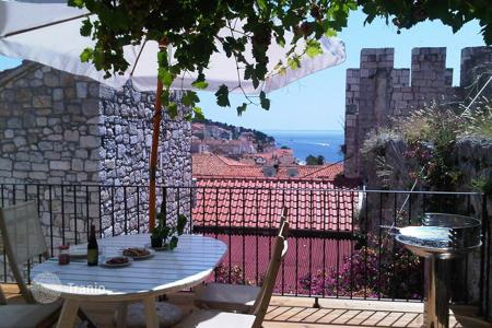 Coastal residential for sale in Hvar. Cozy villa with a garden and a sea view on the island of Hvar, Croatia