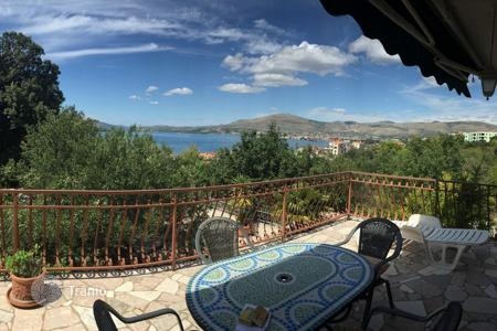 4 bedroom houses for sale in Dalmatia. House with panoramic sea views on the island Ciovo, Croatia