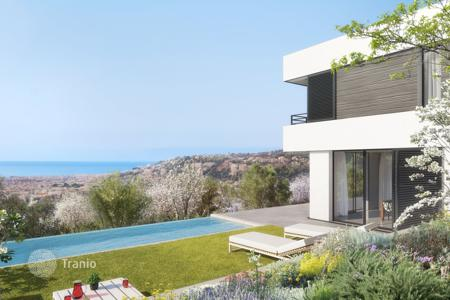 Houses for sale in Nice. Magnificent new contemporary villa in a private domain in Nice Gairaut