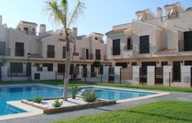 Cheap residential for sale in San Javier. New 3 bedroom quad villa in a complex in San Cayetano