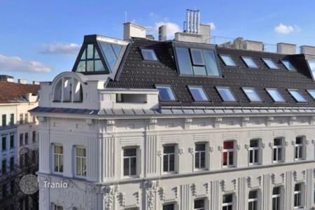 Penthouses for sale in Vienna. Luxury penthouse in unique architectural building with rooftop terrace overlooking Vienna