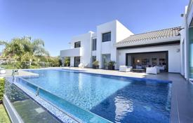 Modern villa with a terrace, a pool and sea views in a prestigious residence, Malaga, Costa del Sol, Spain for 5,500,000 €