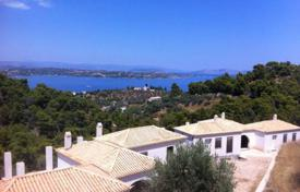 Unfinished cottage with a terrace, sea views and a spacious plot, Spetses, Attica, Greece for 250,000 €