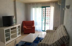 1 bedroom apartments for sale in Valencia. Sea view furnished apartment with a terrace, in a residence with a swimming pool, Benidorm, Spain