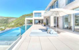 Luxury houses with pools for sale overseas. New luxury villa with panoramic views and a swimming pool in the area of Son Vida, Palma de Mallorca, Spain