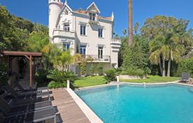 Property to rent in Vallauris. Authentic castle type seafront villa in Cannes
