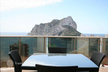 1 bedroom apartments by the sea for sale in Costa Blanca. New apartment of 1 and 2 bedrooms with panoramic views over the Rock of Ifach and the sea in Calpe