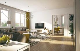 Residential from developers for sale in Germany. New apartment with three bedrooms and a terrace in a modern residential complex, in the green area of Schöneberg, Berlin