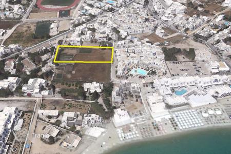 Coastal development land for sale in Mikonos. Land plot within 100 metres from the seashore, Myconos, Greece