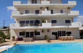 Residential for sale in Agia Varvara. The four-storey house with pool in the southern district of Athens