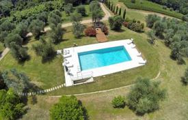 Luxury 6 bedroom houses for sale in Tuscany. Elegant villa overlooking the sea in Castagneto Carducci, Tuscany, Italy