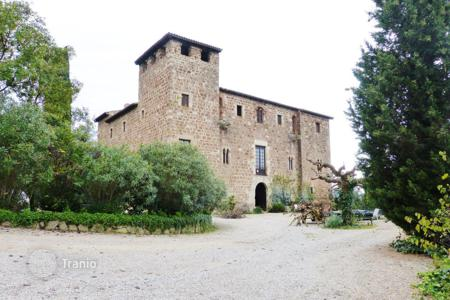 Coastal houses for sale in Catalonia. Manor Castle Masia de Torre Negra in Sant Cugat, Barcelona