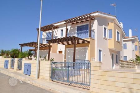 Coastal townhouses for sale in Protaras. Three Bedroom Semi Detached Villa 100 Meters From The Beach