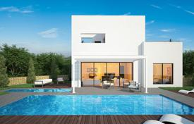Houses for sale in Valencia. Designer villa with swimming pool, in a golf-club, in Las Colinas, Alicante, Spain