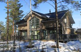 Property for sale in Finland. Two-storey cottage with a spacious terrace and a sauna, surrounded by a picturesque natural landscape, Jämsä, Finland