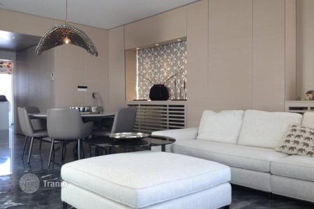 Penthouses for sale in Nicosia. Top floor 3 bedroom furnished duplex apartment in Engomi