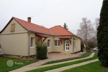 Houses for sale in Zala. In the beautiful scenic village near the lake and the forest the house is for sale