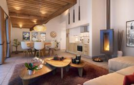 New homes for sale in Auvergne-Rhône-Alpes. Two-bedroom apartment, in a new residence, in a popular ski resort, 150 meters from the cable car, Isère, France