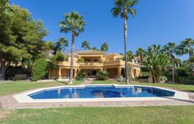 Mediterranean luxury villa with a pool, Golden Mile, Marbella, Spain for 4,200,000 €