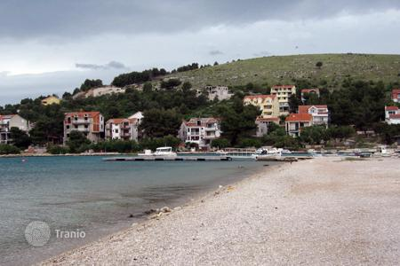 Coastal land for sale in Sibenik-Knin. land first line Zaboric