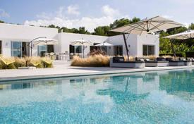 Modern villa with a pool and panoramic views of the sea and the sunsets, Cala Conta, Ibiza, Spain for 19,300 € per week