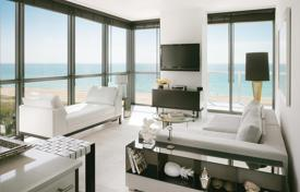 Luxury 1 bedroom apartments for sale overseas. Furnished apartment with refined finishing and panoramic views in an oceanfront full-service residence, South Beach, Miami, USA