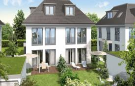 Off-plan residential for sale in Bavaria. Bright cottage with a terrace and a garden, near the city center, Munich, Bavaria, Germany