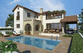 Off-plan houses with pools for sale in Southern Europe. The new complex of villas near the sea in Agia Thekla, Cyprus