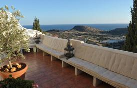 Coastal townhouses for sale in Agios Tychon. Four Bedroom Semi Detached House with sea view