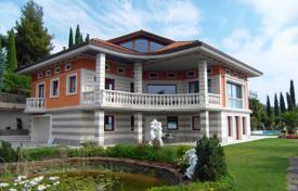 Houses with pools for sale in Portorož. The property of exusite quality with water views in Slovenian coast