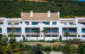 Apartments with pools for sale in Costa del Sol. Penthouse for sale in Las Terrazas de Cortesín, Casares