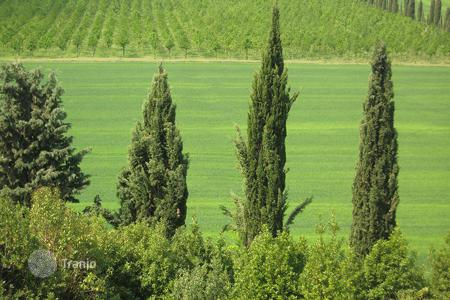 Land for sale in Corciano. The plot of land of about 17 ha for sale in Umbria