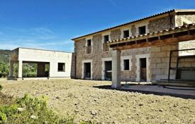 5 bedroom houses for sale in Pollença. Country house under consrtuction, with panoramic views, Pollensa, Spain. Possibility to create your own design! Great investment potential!