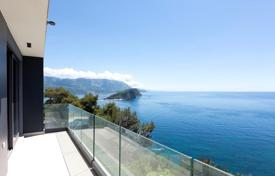 New villa with a pool, a parking and a sea view, Budva, Montenegro for 1,100,000 €
