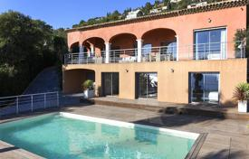 Luxury property for sale in Saint-Raphaël. Renovated villa with a pool, a parking, a home cinema and a panoramic sea view, Antheor, Saint Raphael, France