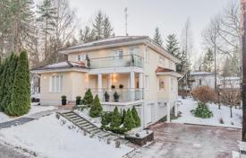 Houses for sale in Finland. Elegant three-storey cottage with a balcony, a veranda and a sauna, Helsinki, Finland