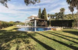 Stylish villa with a pool, a terrace and sea views, Talamanca, Ibiza, Spain for 13,000 € per week