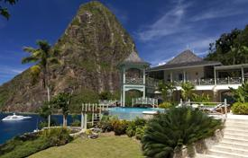 Property for sale in Caribbean islands. This chic, yet serene villa sits between the iconic peaks of the Pitons located in the exclusive Beau Estate on the coveted West Coast of…