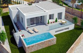 3 bedroom houses for sale in Valencia. Villa with 3 terraces, swimming pool and parking, in Las Colinas, Alicante, Spain