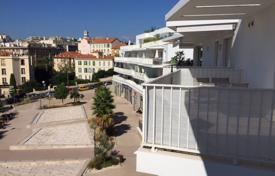 New homes for sale in France. Beautiful apartment with a terrace in a residence with an underground parking, Cannes, France