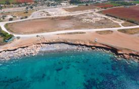 Development land for sale in Larnaca. Large plot with a building permission on the first sea line, Larnaca, Cyprus
