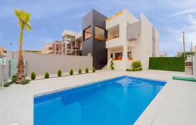 Cheap residential for sale in Costa Blanca. Top floor apartments with solarium and barbecue area in Orihuela Costa
