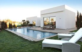 Houses with pools from developers for sale in Spain. MODERN VILLA IN ORIHUELA COSTA
